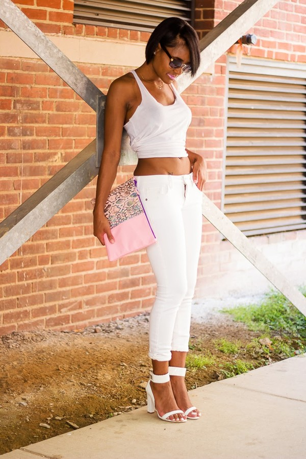 the daileigh t-shirt pants bag shoes sunglasses