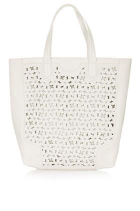 Daisy Cutwork Tote Bag - Bags & Purses  - Bags & Accessories  - Topshop