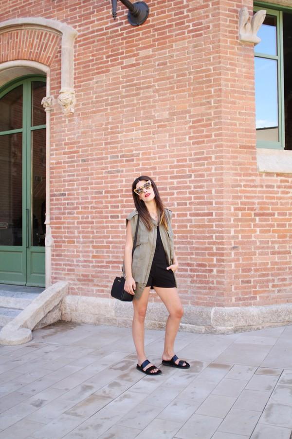 dulceida jacket jumpsuit shoes bag sunglasses