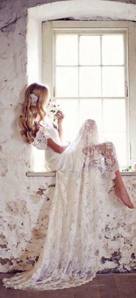 dress white dress white wedding lace wedding dress lase dress lace dress white long dress lace dress white wedding dress white prom dress prom dress sexy prom dress long prom dress