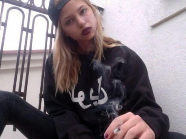 sweater hebrew grunge vintage alternative hip hop cap