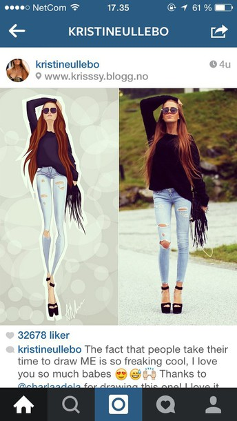 ripped jeans jeans