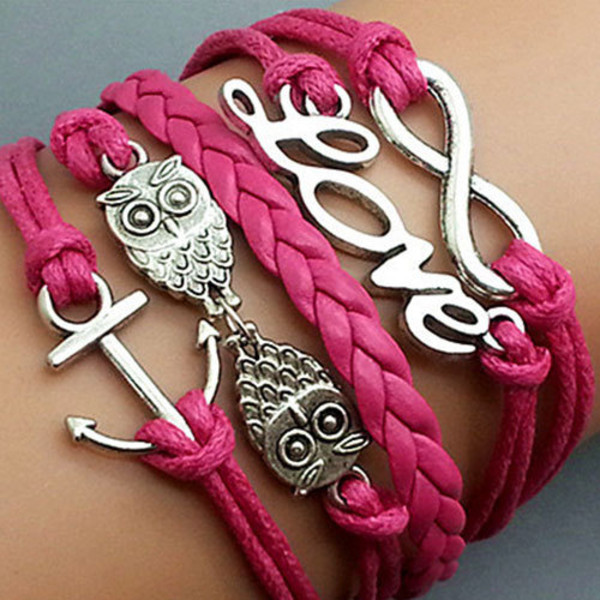 jewels bracelets red fashion
