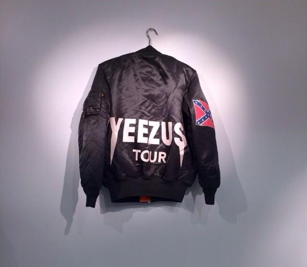 coat yeezus kanye west kanye west tour dope brand cool grunge soft grunge bomber jacket mens jacket jacket
