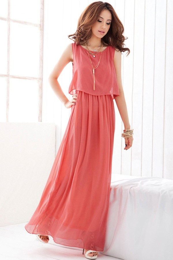 maxi dress long dress elegant dress korean fashion asian