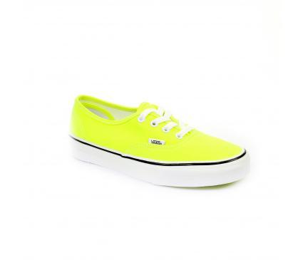 VANS Chaussure à lacets  Jaune fluo Shoe Discount | Shoe Discount