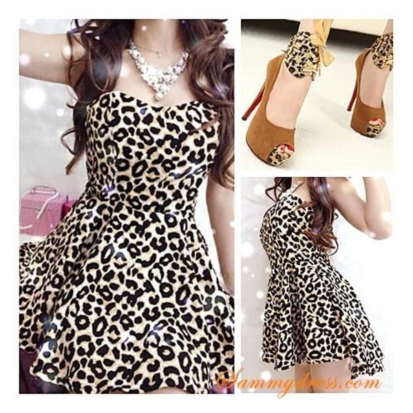 dress leopard print shoes