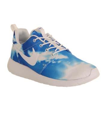 Nike Roshe Run Santa Monica Blue Sky Print Exclusive - Unisex Sports