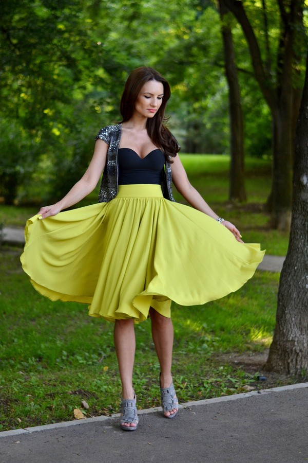 my silk fairytale skirt shoes