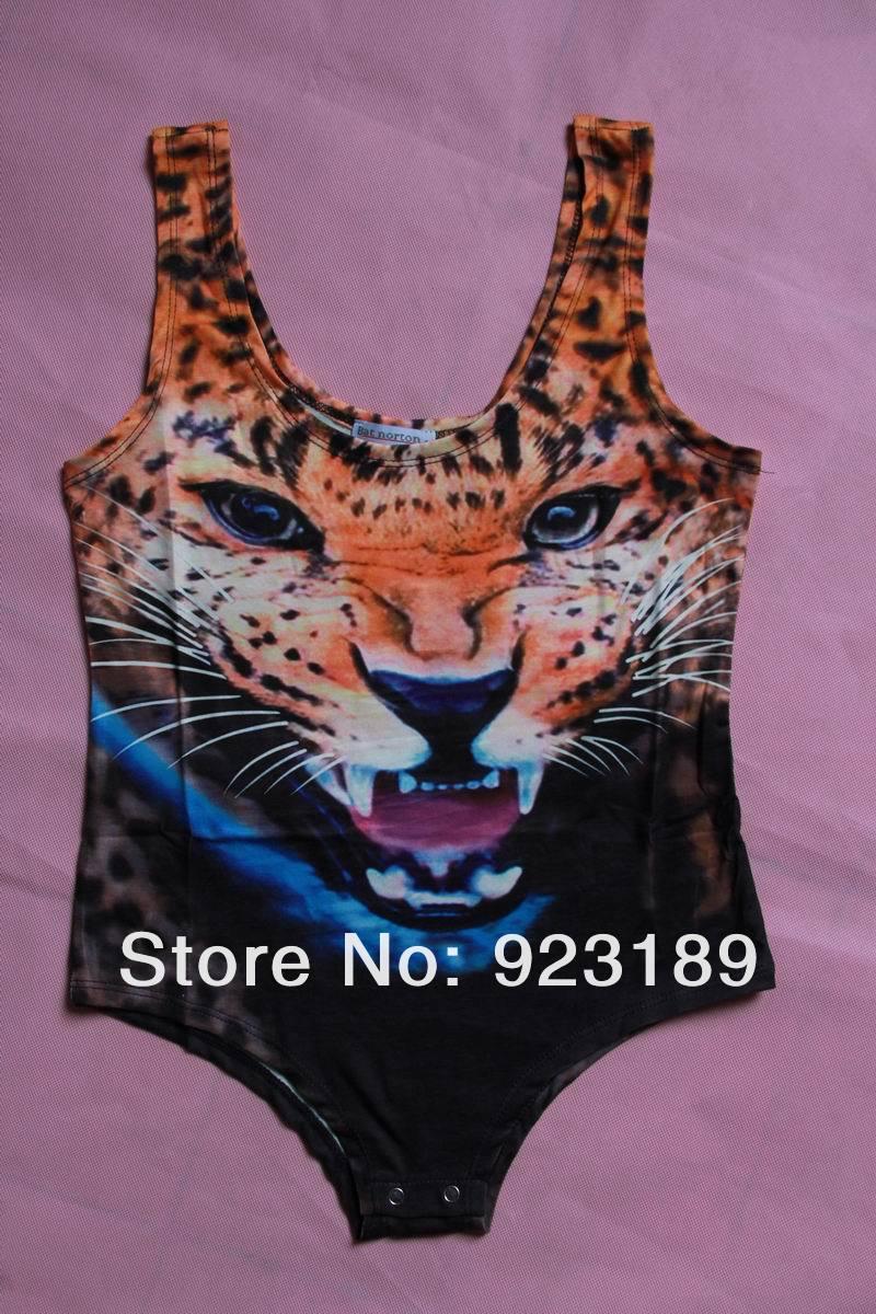 Fashion Brand Designer Tiger Head 3D Print One Piece Swimsuits Fashion Women's Leopard Print Sexy Bodysuit/Wetsuit High Quality on Aliexpress.com