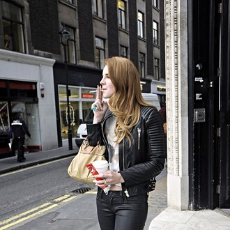jacket leather lana del rey