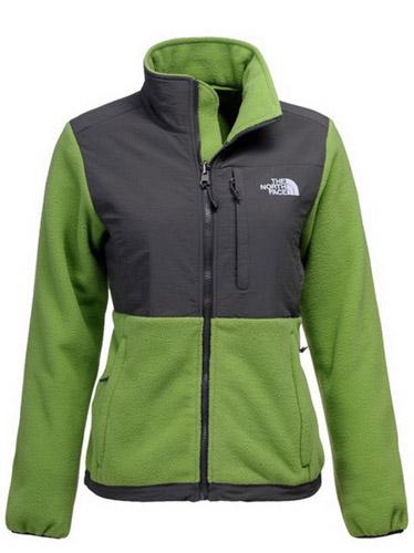The North Face Women's Denali Fleece Jacket Green