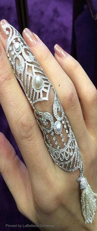 jewels silver ring armor ring