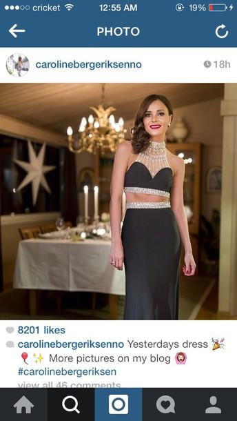 dress two piece dress set fashion style celebrity