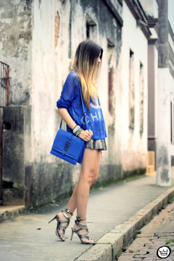 fashion coolture sweater skirt bag shoes