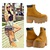Jeffrey Campbell Tan Nirvana Boot