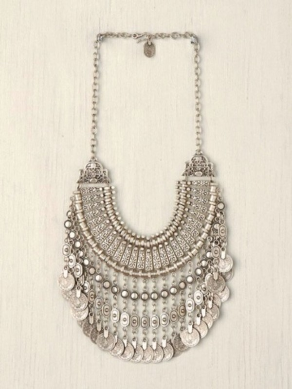 jewels necklace silver egyptian statement tumblr cute silver necklace statement necklace necklace