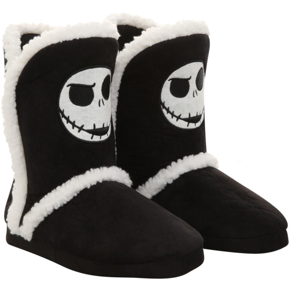 The Nightmare Before Christmas Jack Slipper Boots | Hot Topic - Polyvore