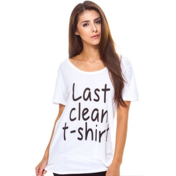 Last clean t-shirt M from Maribel's closet on Poshmark
