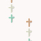 Mini cross stud set | forever21 - 1019572401