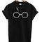 Lightning glasses harry potter unisex tshirt - stylecotton