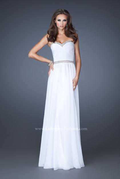 La Femme Prom Dresses 18325 at Peaches Boutique