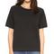 Sincerely jules cara short sleeve sweatshirt - black