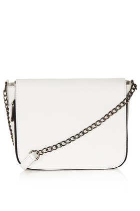 Clean Chain Strap Crossbody Bag - Topshop