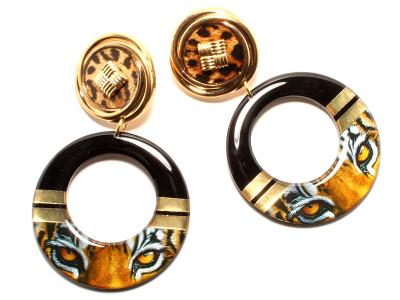 Hungry eyes Earrings | Honey B Gold