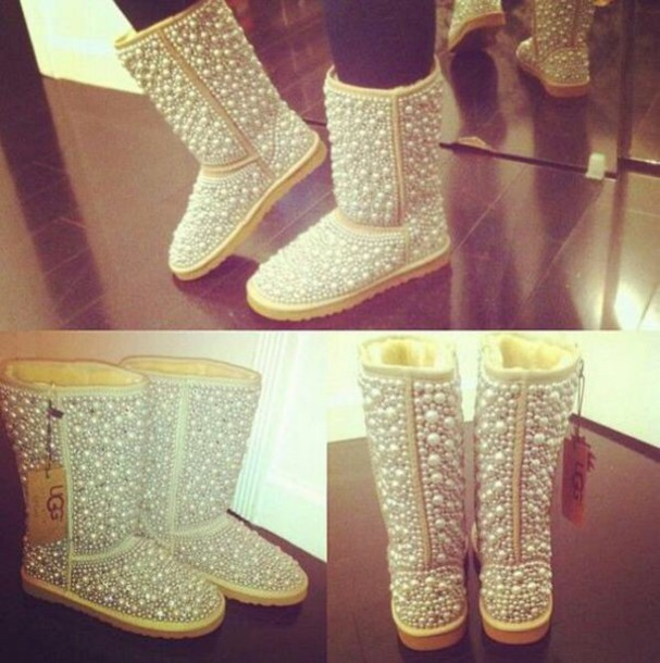 shoes ugg boots pearl