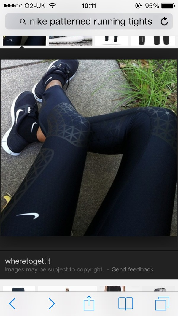 pants nike running tights