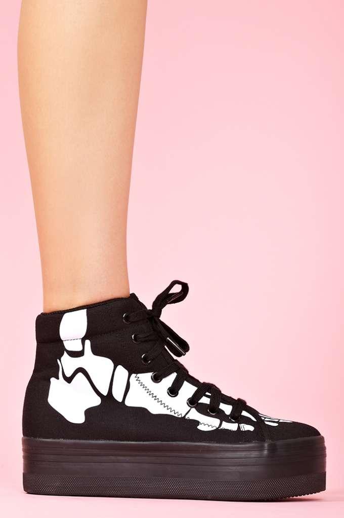 Homg Platform Sneaker - Skeleton  in  Shoes at Nasty Gal