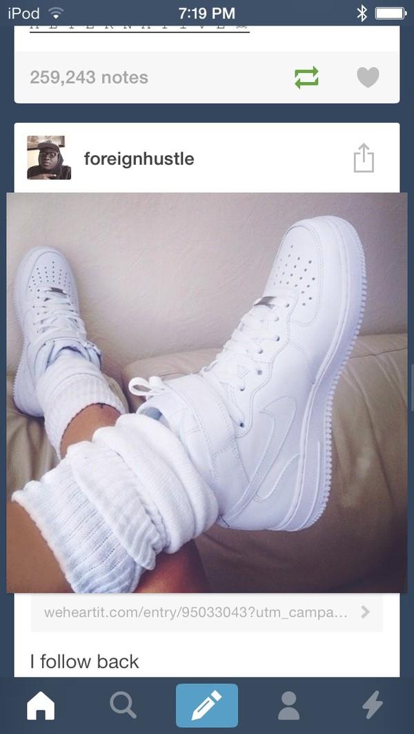 shoes nike nike air force 1 white nike sneakers underwear