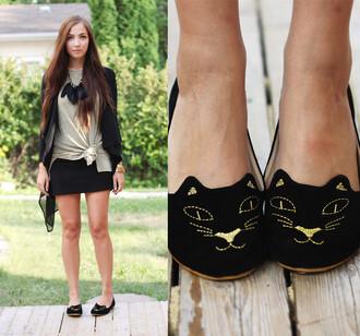 shoes cat shoes cat face