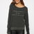 Wildfox - Congrats Baggy Beach Jumper - Vintage Black | New Arrivals | Peppermayo