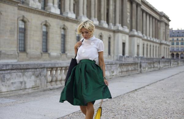 stylista top skirt bag jewels
