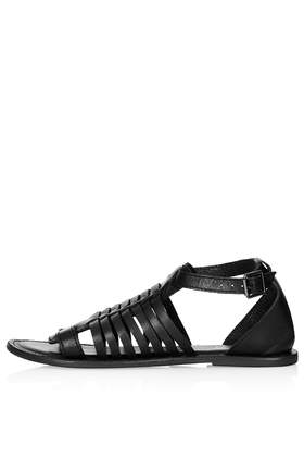 HARMONY Gladiator Sandals - Flat Sandals - Flats - Shoes- Topshop USA