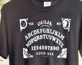 Popular items for ouija board tshirt on Etsy