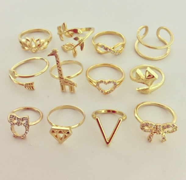 Jewels ring ring gold gold ring gold jewelry gold cuffs