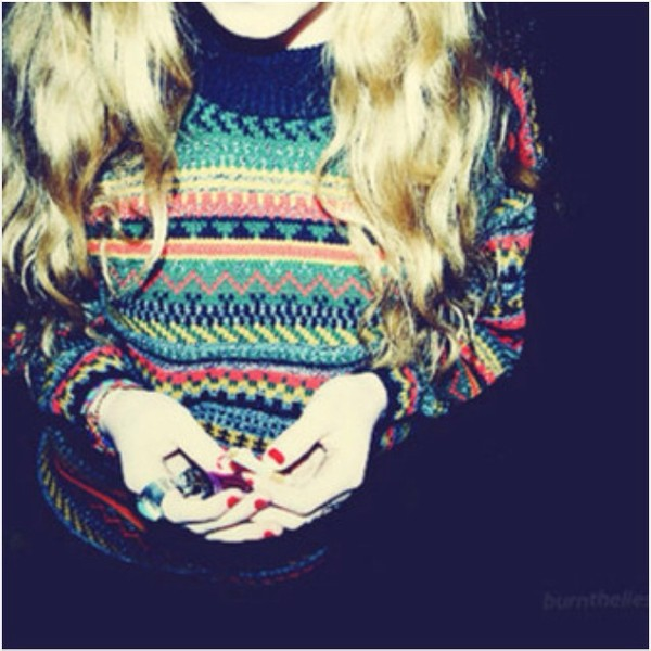 sweater cute aztec christmas sweater