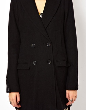 ASOS | ASOS Longline Double Breasted Coat at ASOS
