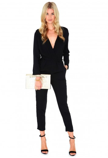 Trixette Cross Over Jumpsuit - Jumpsuits & Playsuits - Missguided