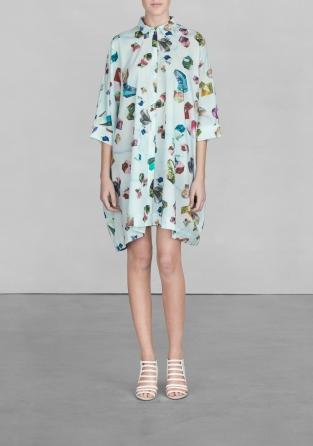 Gem print shirt dress  | Gem print shirt dress  | & Other Stories