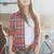 2013 Women Button Down Lapel Shirt Plaids & Checks Flannel Shirts Tops Blouse TP | eBay