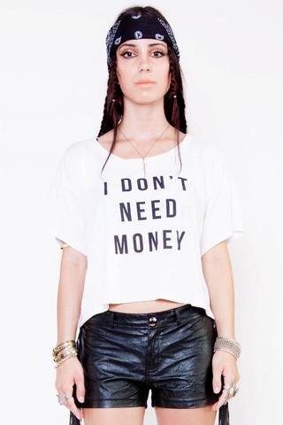 Money Needs Me Tee