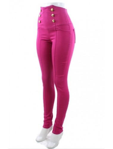 Light Pink High Waist Jeans   Clothing   Womens Clothing, Shoes, Jewelry & Plus Sizes   B. De'Lish