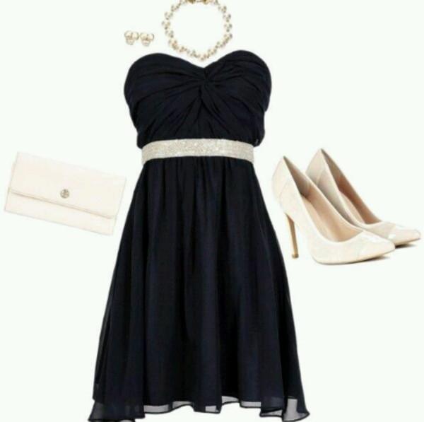 dress cute dress little black dress black bustier robe robe noire black dress