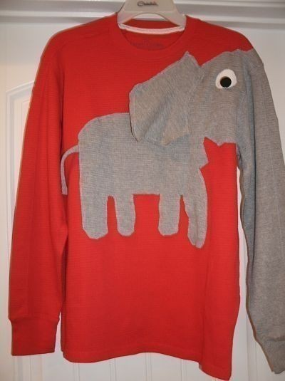 Elephant Shirt by annasbowtique on Etsy