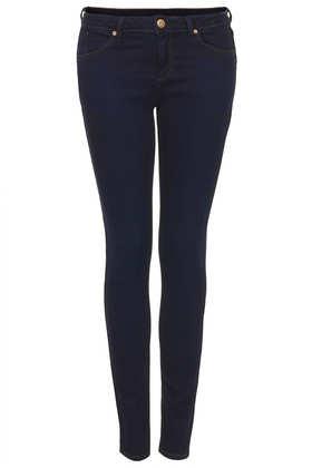 MOTO Indigo Rinse Baxter Jeans - Jeans  - Clothing  - Topshop
