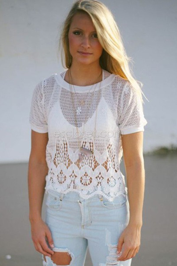 top girly boho chic summer outfits summer shirt look for less everyone need it look of the day white colored lace designs
